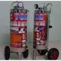 Máy rửa xe bọt tuyết Proly 702 inox 304 (24 lít)
