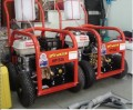 Máy phun rửa áp lực cao dùng máy xăng HP201SAE